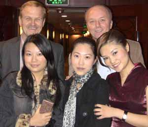 Our clients with beautiful Chinese ladies